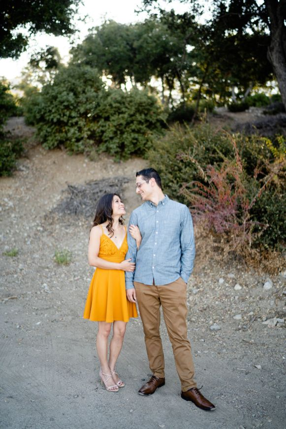 Angeles Forest Engagement Session