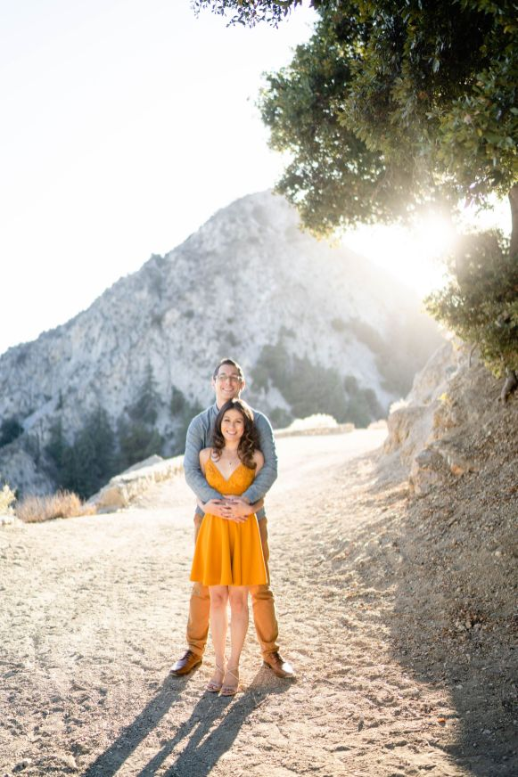 Angeles Crest Mountain Forest Engagement