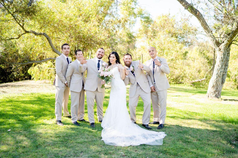 groomsmen huntington beach wedding