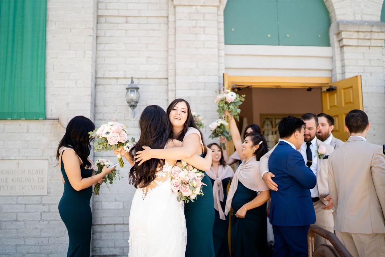 wedding downey church