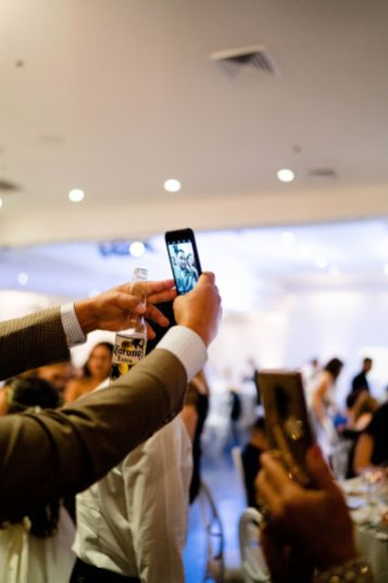 wedding guests photographer OC