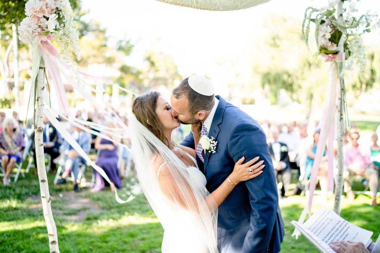 first kiss el segundo wedding