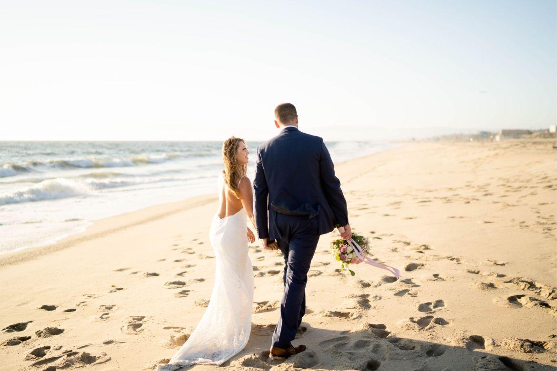 wedding party el segundo beach