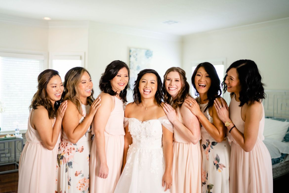 bridal party diamond bar