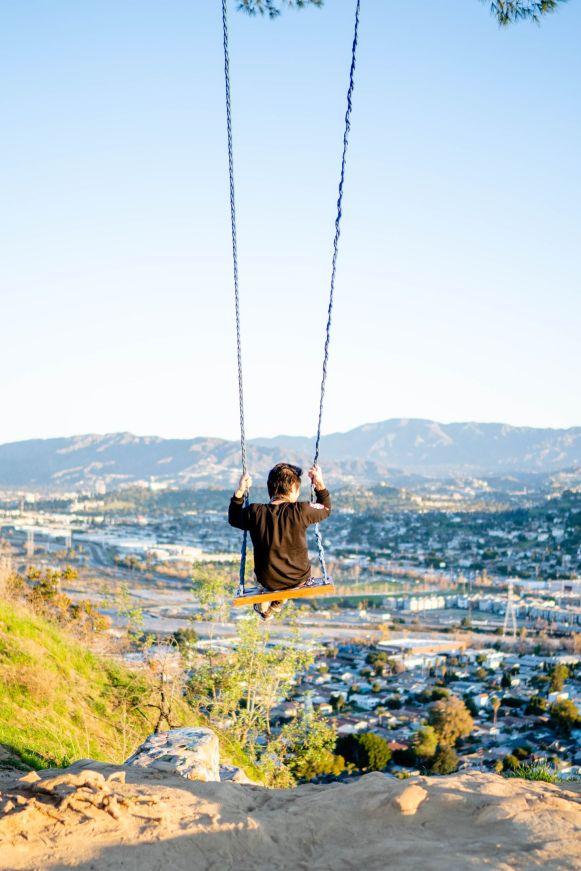 greg swing on top of elysian park