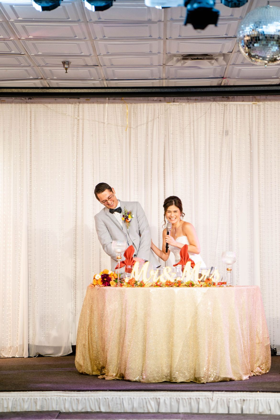 OC wedding corina and matt
