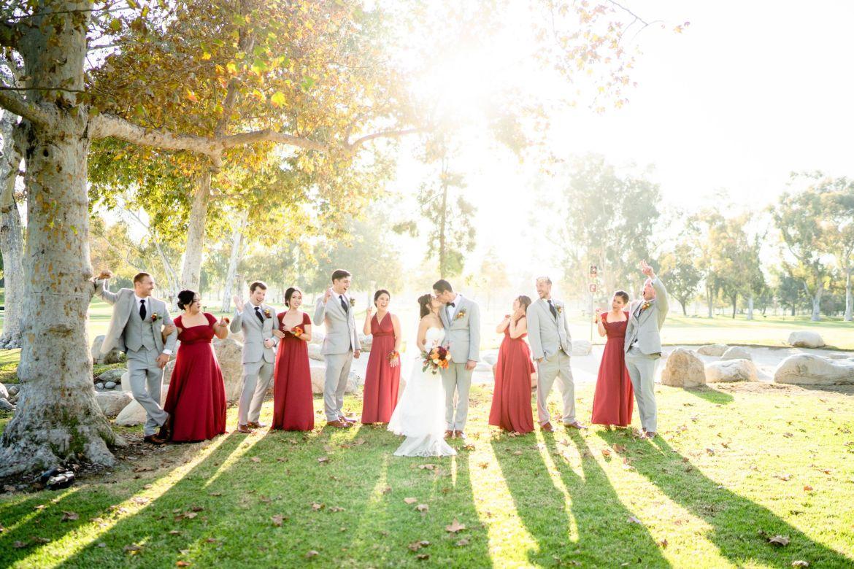 OC wedding mile square park