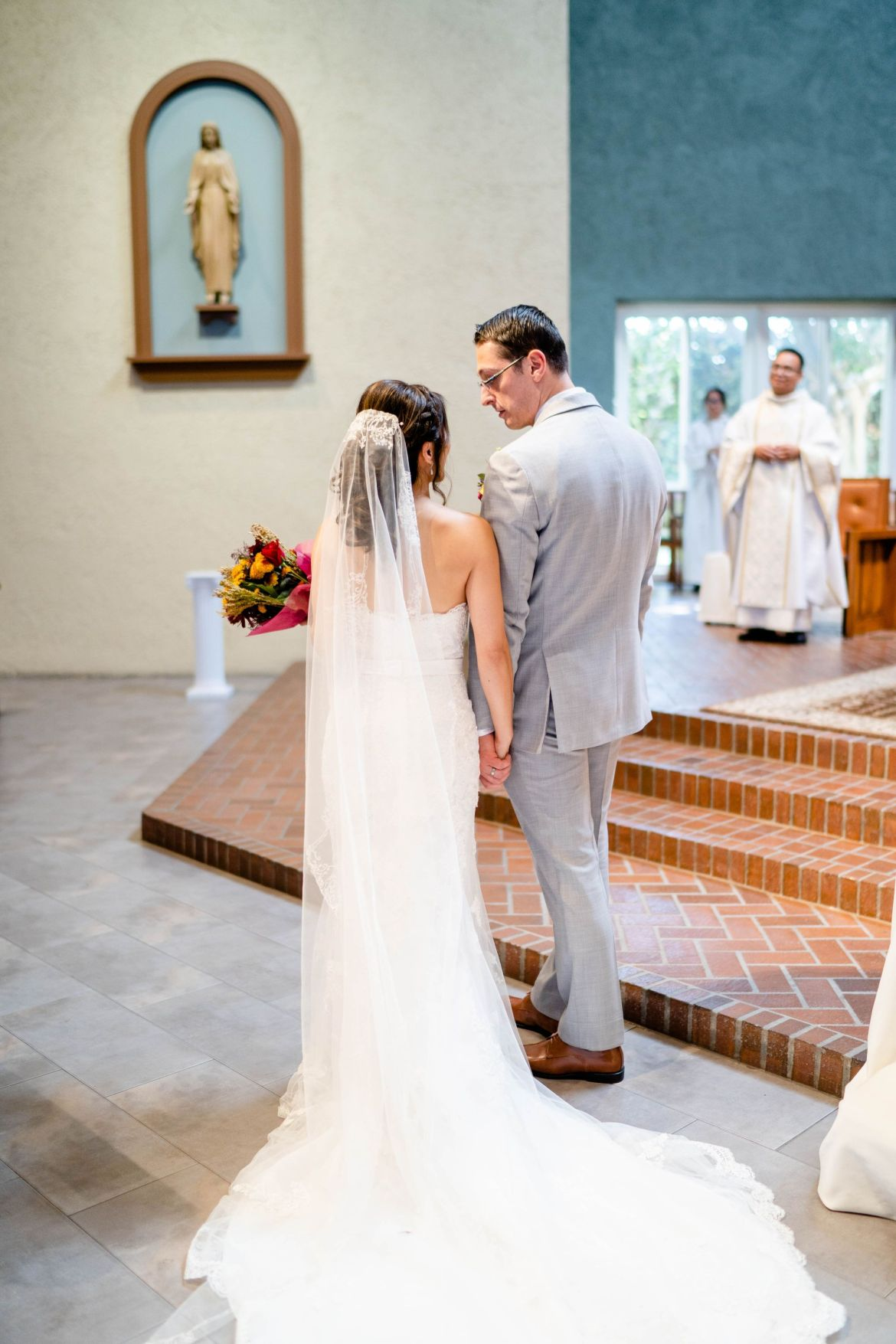 catholic wedding formal