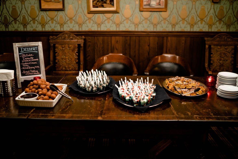 desserts buffet bar wedding