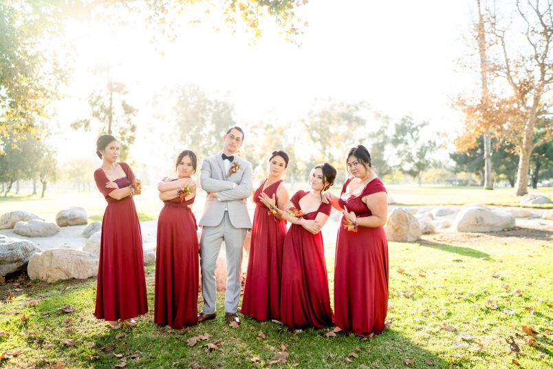 mile square park fountain valley wedding photographers