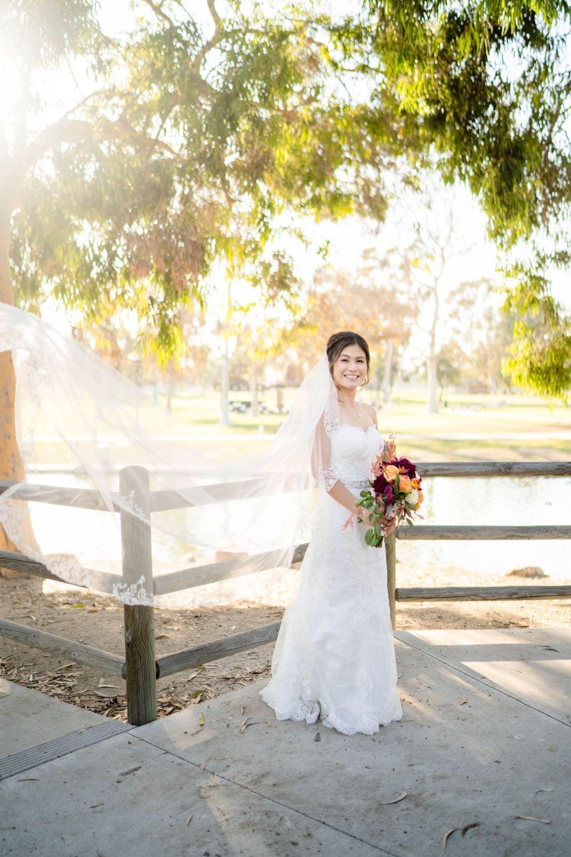 mile square park wedding formals