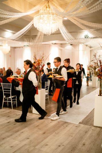 paracel restaurant wedding photo