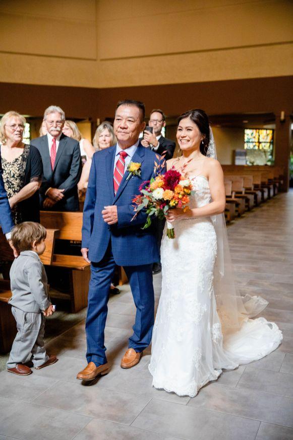 wedding catholic fountain valley