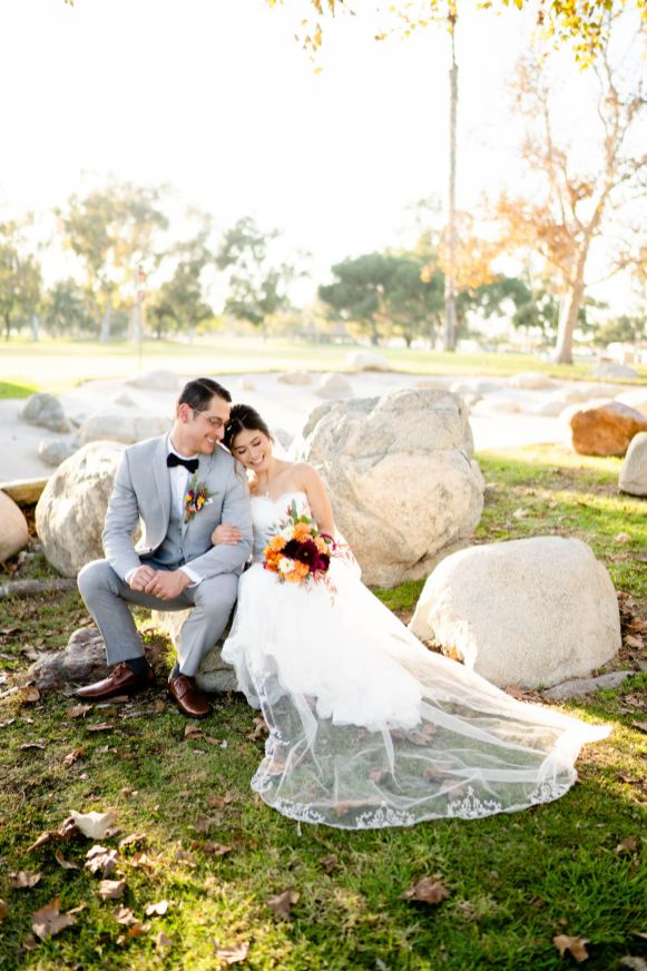 wedding photos mile square park