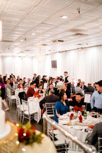 wedding reception chinese banquet