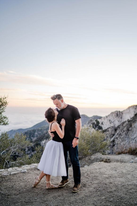 mountain elopement angeles national forest