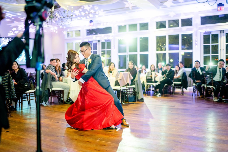 wedding chinese red dress