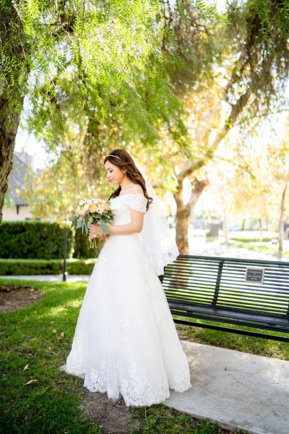 wedding dress fullerton