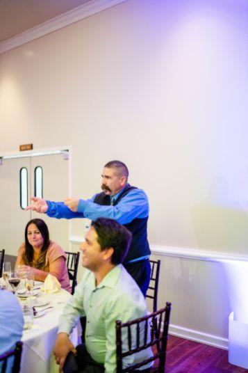 wedding reception brea