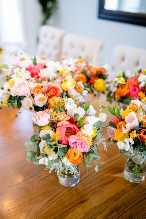 floral bouquet wedding san dimas