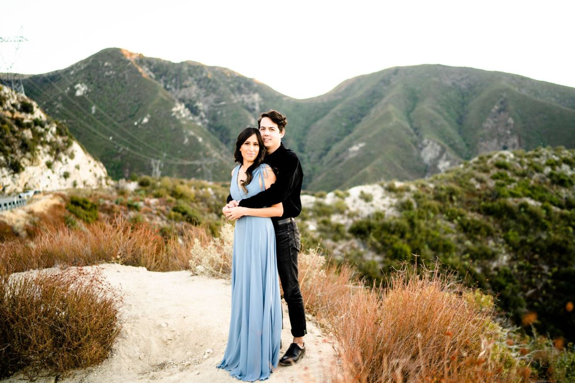 Angeles Crest Mountain Engagement