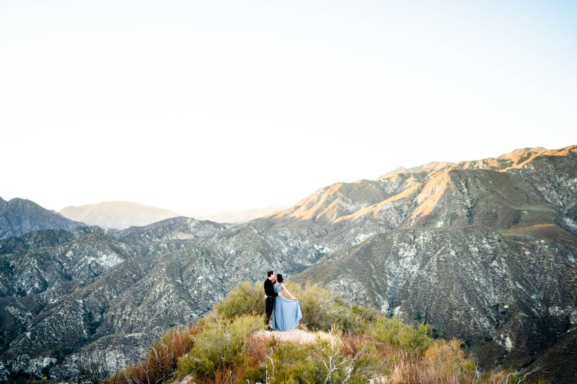 Mountain Engagement Angeles National Forest