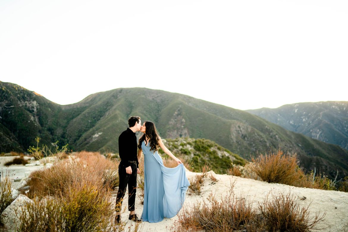 Los Angeles National Forest Mountain Engagement
