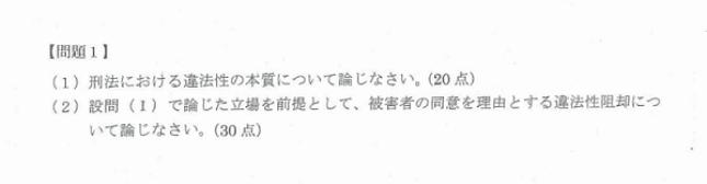 """筑波大学社会学類法学の""""小論文""""の過去問①"""