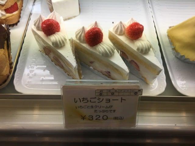 ケーキハウストミタのいちごショート