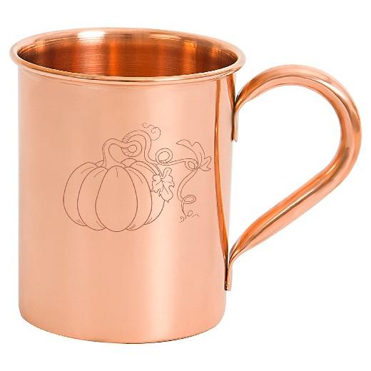 Halloween Pumpkin Copper Mug