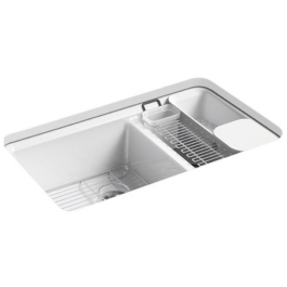 Kitchen Sink Ideas to choose from cast iron sinks - Kitchen Sink Types - Pros and Cons (Ultimate Sink Guide)