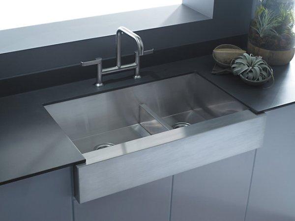 Kohler Sink K-3945-NA Vault installed