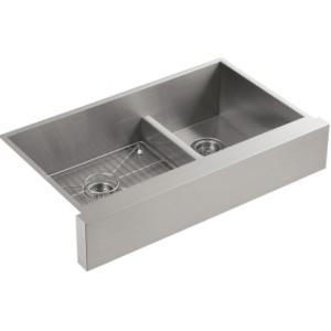 Kohler Sink K-3945-NA Vault with smart divide