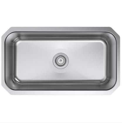 Kohler Sink K-5290-HCF-NA Preserve - Single Bowl | By KING'S KITCHEN
