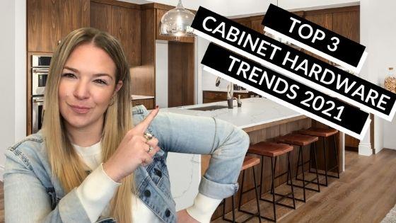 Top 3 Cabinet Hardware Trends 2021