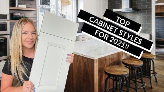 Cabinet Door Styles for Kitchen Remodel