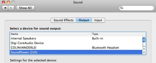 record what you hear mac sound output
