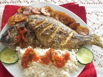 NIGERIAN GRILLED FISH recipe