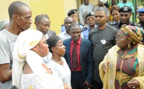 Image result for Epe residents commend Ambode, Security agencies on rescue kidnapped Students, Teachers