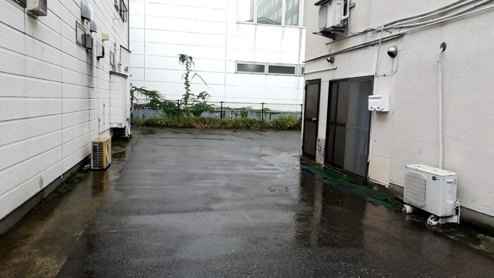 杉野十兵次 駐車場