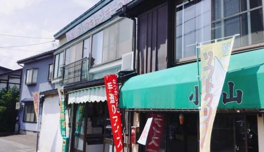 レトロ感がたまらない!弘前市小山内冷菓店のアイスキャンディー