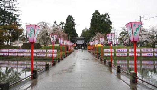 【2018年お花見】山形県新庄市 最上公園の桜