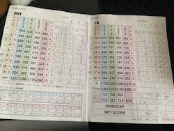 4度目のゴルフコース