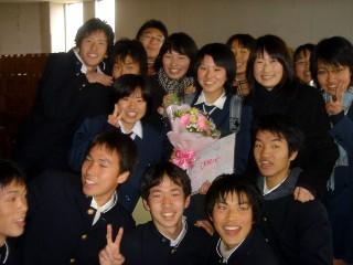 先輩たちの卒業式