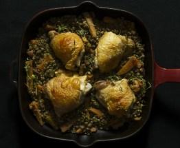 Chicken & Lentils
