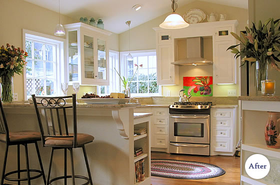 Custom Cabinetry Baking Ranch House Display Collectables