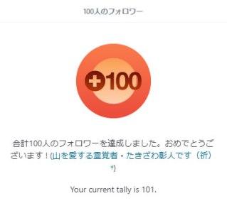 Wordpressフォロワー100人