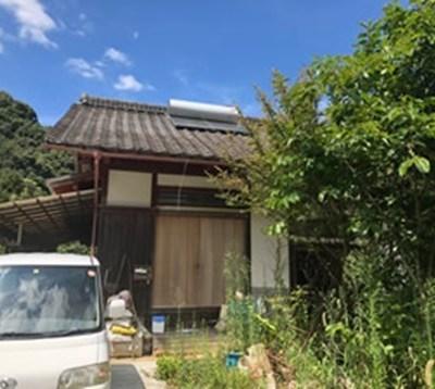 【売買】100万円 愛媛県西予市野村町片川 山間の静かな集落にある庭付き平屋 買物環境は車5分