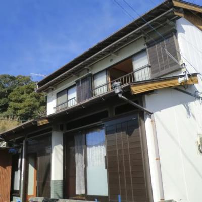 【売買】400万円 高知県高岡郡四万十町志和 海が見える 平成3年築の物置付き2階建 補修不要