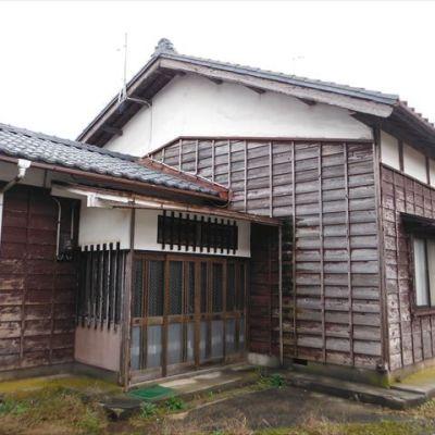 【売買】380万円 新潟市胎内市柴橋 作業場兼物置・車庫付き2階建古民家